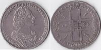 Rubel, 1724 Russland, Peter I.,1682-1725, sehr schön +,  795,00 EUR  Excl. 10,00 EUR Verzending