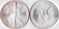 Ein Dollar, 1999 USA, Schreitende Liberty,Eine Unze Silber, stempelglanz,  23,00 EUR  Excl. 3,50 EUR Verzending