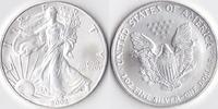 Ein Dollar, 2002 USA, Schreitende Liberty,Eine Unze Silber, stempelglanz,  23,00 EUR  Excl. 3,50 EUR Verzending