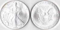 Ein Dollar, 2004 USA, Schreitende Liberty,Eine Unze Silber, stempelglanz,  23,00 EUR  Excl. 3,50 EUR Verzending