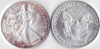 Ein Dollar, 2000 USA, Schreitende Liberty,Eine Unze Silber, stempelglanz,  23,00 EUR  Excl. 3,50 EUR Verzending