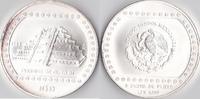 5 Unzen Silber, 1993, Mexiko, Piaamide de el Talin stempelglanz,  125,00 EUR  Excl. 5,00 EUR Verzending