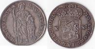 10 Stüber, 1761, Niederlande, Dordrecht, vorzüglich+, Prachtstück, selt... 285,00 EUR  Excl. 5,00 EUR Verzending