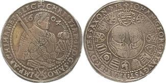 Reichstaler 1604  HB Sachsen-Albertinische...