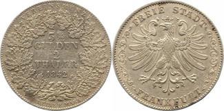 Vereinsdoppeltaler 1842 Frankfurt, Stadt  ...