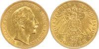 20 Mark Gold 1890  A Preußen Wilhelm II. 1888-1918. sehr schön  285,00 EUR  plus 5,00 EUR verzending