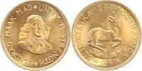 2 Rand Gold 1964 Südafrika Republik 1960. Stempelglanz  330,00 EUR  plus 5,00 EUR verzending