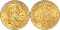 10 Mark Gold 1872  A Preußen Wilhelm I. 1861-1888. vorzüglich-Stempelgl... 220,00 EUR  plus 5,00 EUR verzending