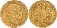 20 Mark Gold 1872  A Preußen Wilhelm I. 1861-1888. Sehr schön-vorzüglic... 310,00 EUR  plus 5,00 EUR verzending