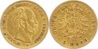5 Mark Gold 1877  B Preußen Wilhelm I. 1861-1888. Sehr schön  295,00 EUR  plus 5,00 EUR verzending