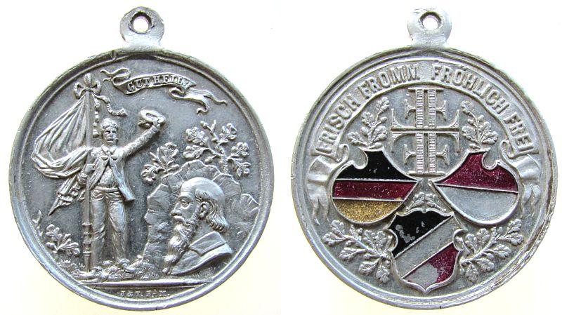 Aluminium Frisch Fromm Fröhlich Frei Jahn Friedrich Ludwig (1778-1852