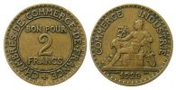 Frankreich 2 Francs AlBr