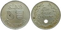 Drittes Reich Medaille Bronze versilbert für gute Leistung, vom Reichsbund für das Deutsche Hundeswesen