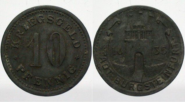 Burgsteinfurt 10 Pfennig o J