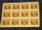Originaldruckbogen zu 12 x 5000 Mark 15.2....