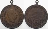 kleine Bronzemedaille 1889 Sachsen-Albertinische Linie Albert 1873-1902... 45,00 EUR  plus 5,00 EUR verzending