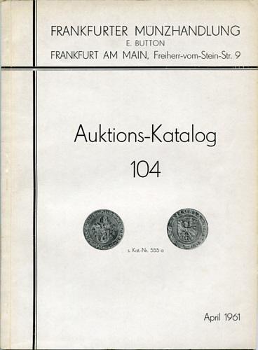 Goldmünzen Sammlung Dr Hartmann Freiherr von Richthofen / Baden-baden