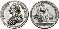 Brandenburg-Preußen Silbermedaille Preußen / Friedrich II. / Preismedaille für Leistungen im Seidenbau