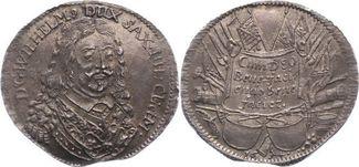 1/4 Taler 1654 Sachsen-Neu-Weimar Wilhelm ...