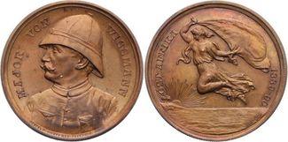 Bronzemedaille 1890 Kolonien  Leicht fleck...