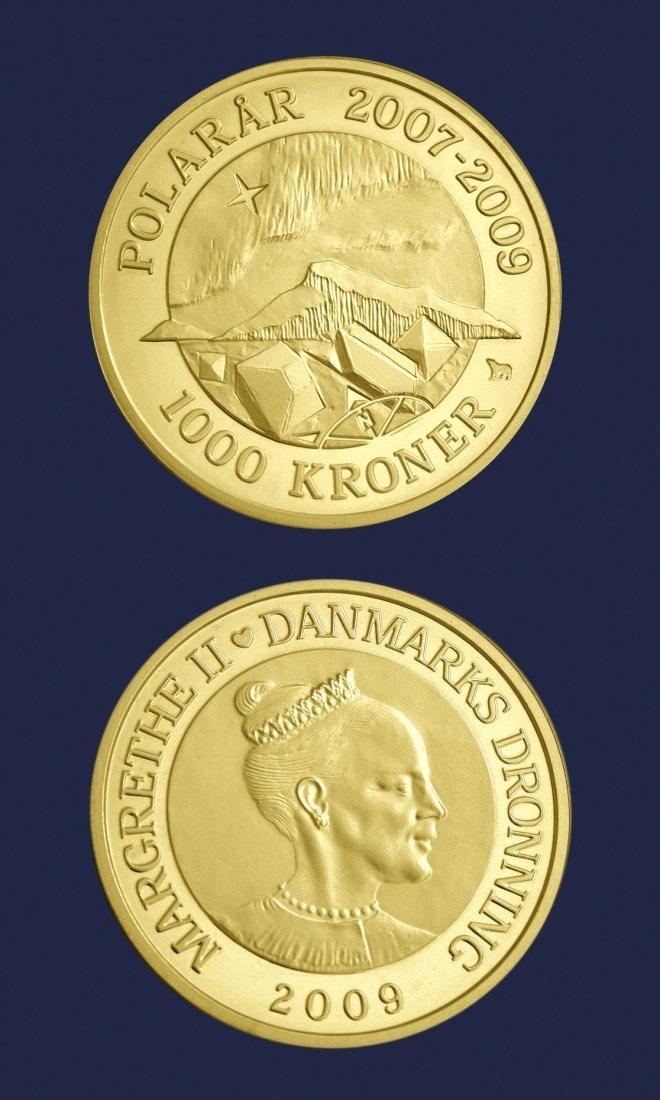 Dänemark 1 000 Kr Goldmünze 1000 Dkk 2009