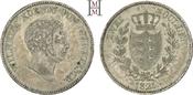 Doppelgulden 1825 Württemberg Wilhelm I. 1...
