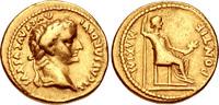 """Tiberius. AD 14-37. AV Aureus (19mm, 7.69 g, 6h). """"Tribute Penny"""" ty... 3782,28 EUR"""