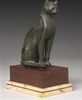 Ancient Egyptian Bronze Figure of a Cat, 21st/26th Dynasty, 1075-525... 12257,12 EUR  zzgl. 13,13 EUR Versand