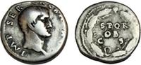 GALBA. 68-69 AD. AR Denarius (19mm, 3.49 gm). Rome mint.   765,46 EUR