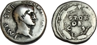GALBA. 68-69 AD. AR Denarius (19mm, 3.49 gm). Rome mint.   742,95 EUR  zzgl. 10,49 EUR Versand