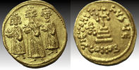 Heraclius, with Heraclius Constantine and Heraclonas. 610-641. AV So... 619,56 EUR  +  10,70 EUR shipping