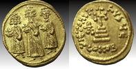 Heraclius, with Heraclius Constantine and Heraclonas. 610-641. AV So... 604,41 EUR  +  10,44 EUR shipping