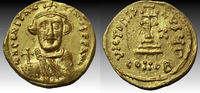Constans II. 641-668. AV Solidus (21mm, 4.4 gm). Constantinople mint... 623,16 EUR  +  10,76 EUR shipping