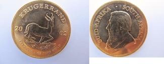 Krugerrand 2002 Südafrika 1 Goldunze Krüge...