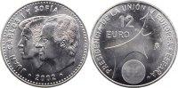 12 Euro 2002 Spanien Juan Carlos I. seit 1975. fast Stempelglanz  15,00 EUR