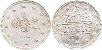 Türkei 2 Kurush Muhammad V. 1327-1336 / 1909-1918.