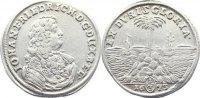 Braunschweig-Calenberg-Hannover, ab 1692 Kftm. Han Dicker 1/3 Palmbaumtaler Johann Friedrich 1665-1679.