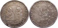 Sachsen-Coburg-Eisenach Taler Johann Casimir und Johann Ernst 1572-1633.