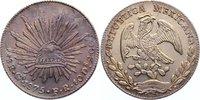 8 Reales 1875 Mexiko Zweite Republik seit 1867. feine Patina, fast Stem... 185,00 EUR
