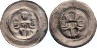 Brakteat 1236-1241 Halberstadt, Bistum Ludolf I. 1236-1241. selten, seh... 195,00 EUR