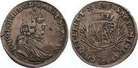 1/6 Taler 1689  IK Sachsen-Albertinische Linie Johann Georg III. 1680-1... 195,00 EUR
