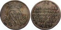 Groschen 1686 Sachsen-Weissenfels Johanna Magdalena von Sachsen-Altenbu... 245,00 EUR