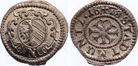 Kreuzer 1678 Nürnberg, Stadt  Zainende, prägefrisch  30,00 EUR