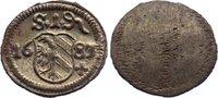 Einseitiger Pfennig 1683 Nürnberg, Stadt  prägefrisch  25,00 EUR
