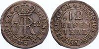 1/12 Taler 1695 Sachsen-Albertinische Linie Friedrich August I. 1694-17... 425,00 EUR