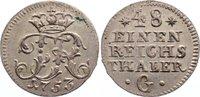 1/48 Taler 1753  G Brandenburg-Preußen Friedrich II. 1740-1786. prägefr... 125,00 EUR