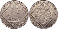 20 Kreuzer 1773 Bayern Maximilian III. Joseph 1745-1777. leicht justier... 80,00 EUR