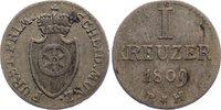 Kreuzer 1809  BH Frankfurt, Fürstprimatische Staaten Carl Theodor von D... 40,00 EUR  zzgl. 3,50 EUR Versand