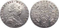 Sixpence 1787 Großbritannien George III. 1760-1820. min. Kratzer, vorzü... 95,00 EUR  zzgl. 3,50 EUR Versand