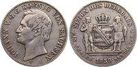 Ausbeutetaler 1858  F Sachsen-Albertinische Linie Johann 1854-1873. kna... 120,00 EUR  zzgl. 3,50 EUR Versand